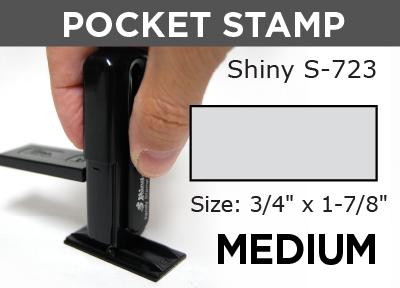 Medium Pocket Stamp