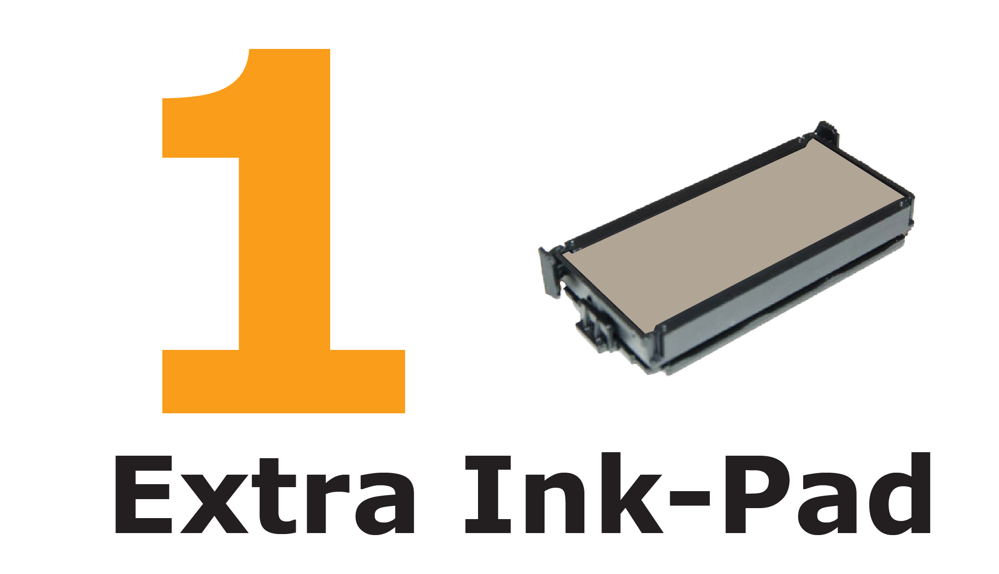 ONE extra ink-pad